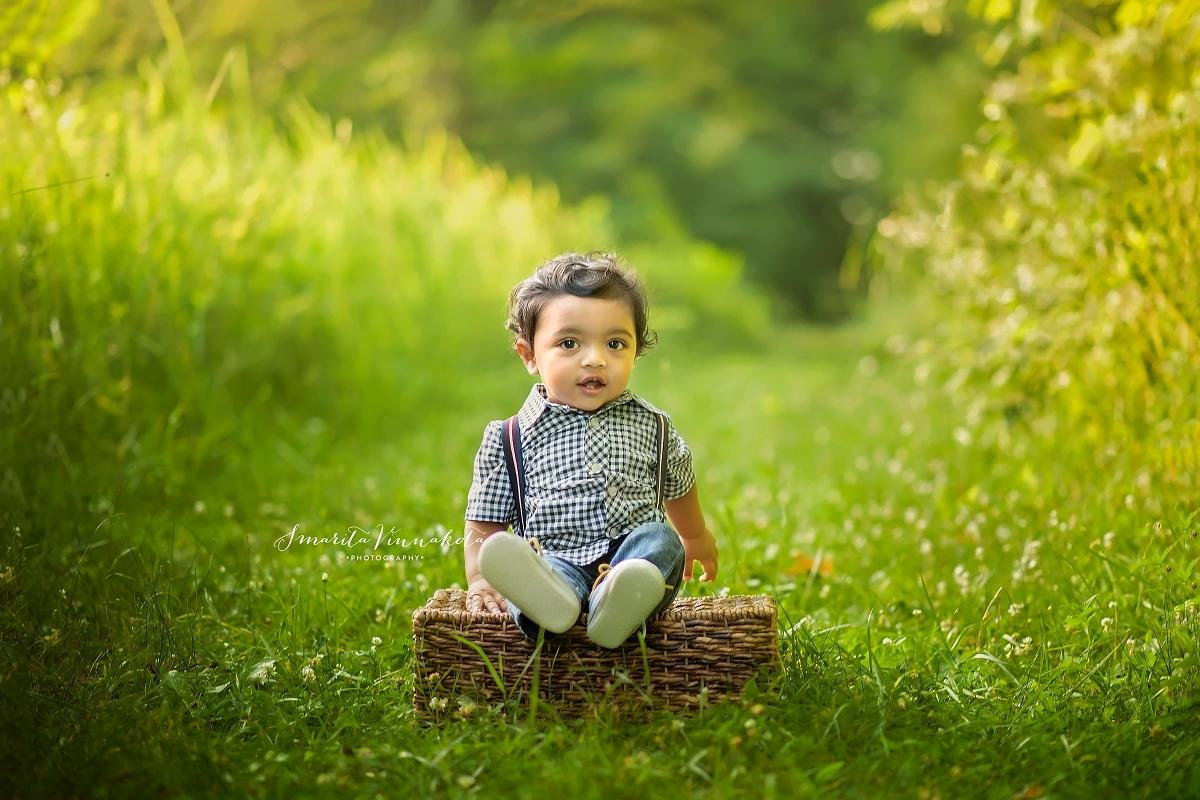 Outdoor Baby Session Bloomington Il Baby Photographer