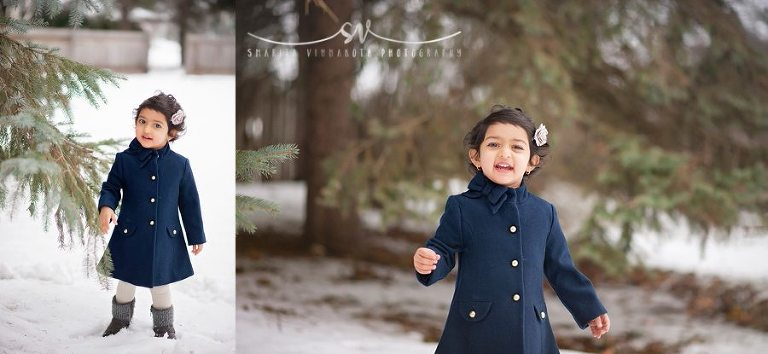 Snow family session