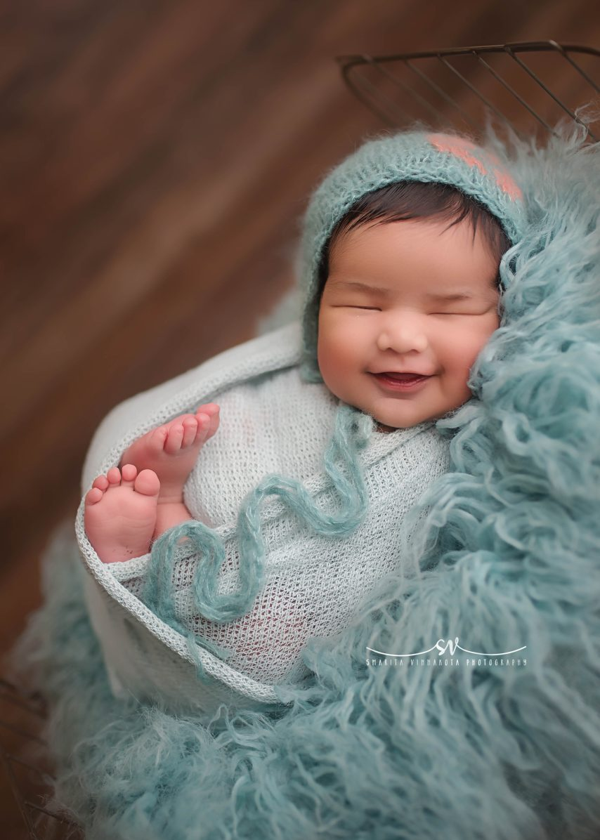 Hyderabad smiling baby photography